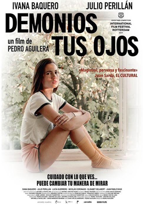 Cartel oficial en español de: Demonios tus ojos