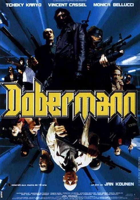 Cartel oficial en español de: Dobermann