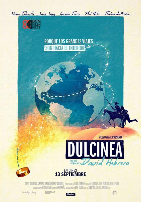 Cartel oficial en español de: Dulcinea
