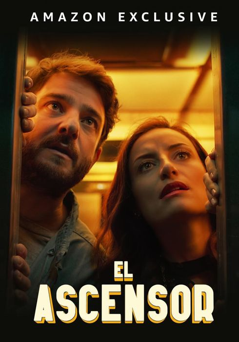 Cartel oficial en español de: El ascensor