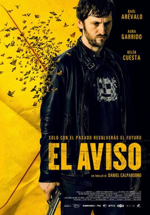 Cartel oficial en español de: El aviso