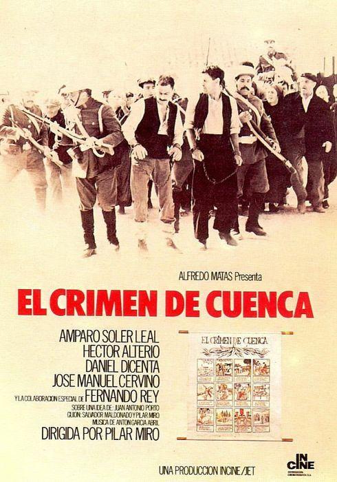 Cartel oficial en español de: El crimen de Cuenca