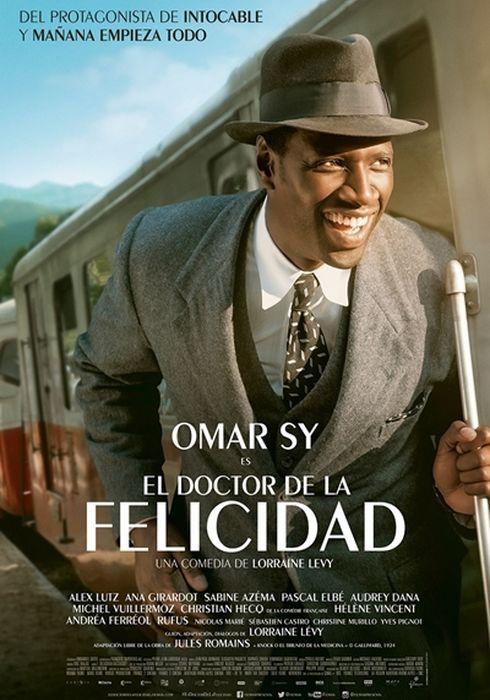 Cartel oficial en español de: El doctor de la felicidad