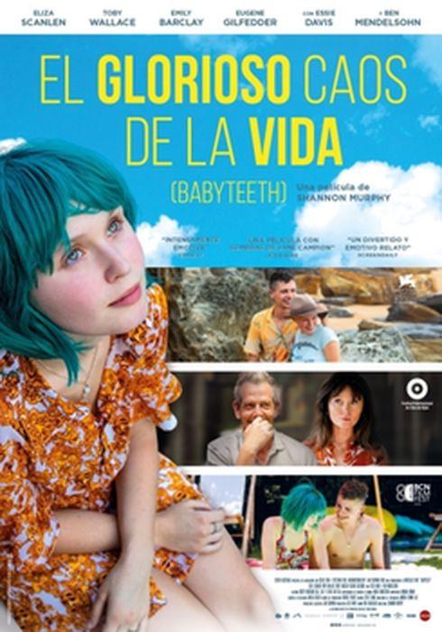 Cartel oficial en español de: El glorioso caos de la vida