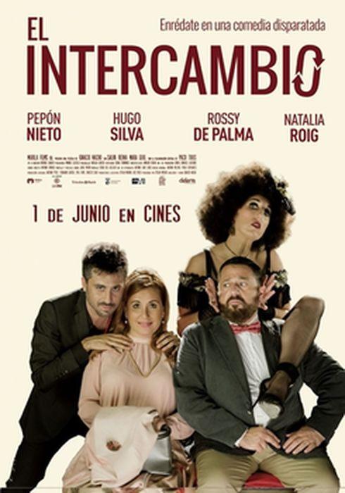 Cartel oficial en español de: El intercambio