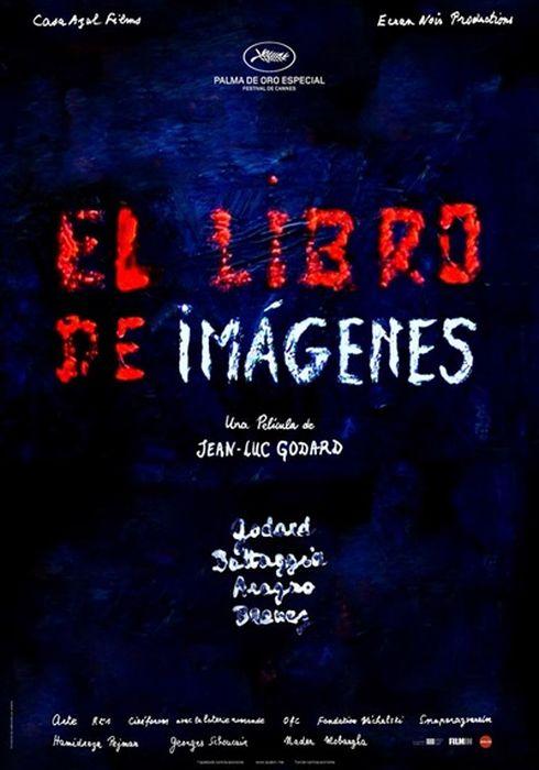 Cartel oficial en español de: El libro de imágenes