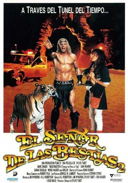 Cartel oficial en español de: El señor de las bestias 2: La puerta del tiempo