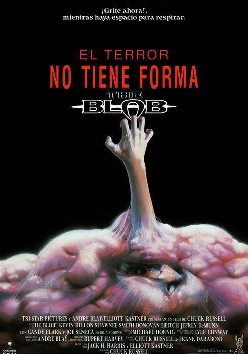 Cartel oficial en español de: El terror no tiene forma (The Blob)