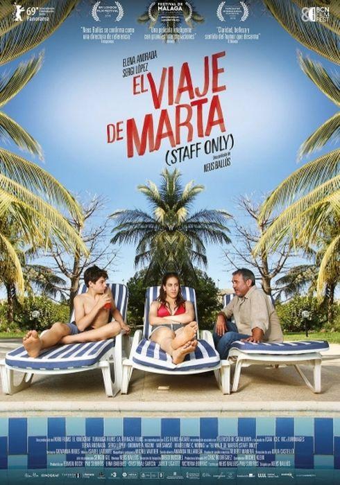 Cartel oficial en español de: El viaje de Marta (Staff Only)
