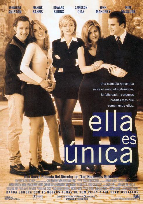 Cartel oficial en español de: Ella es única