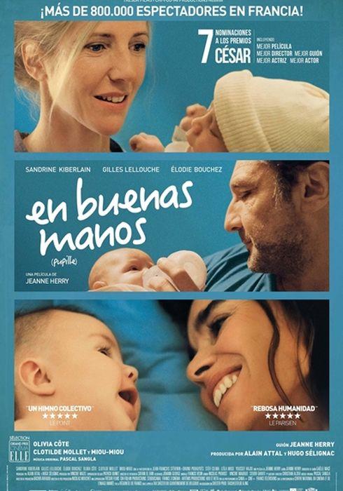 Cartel oficial en español de: En buenas manos