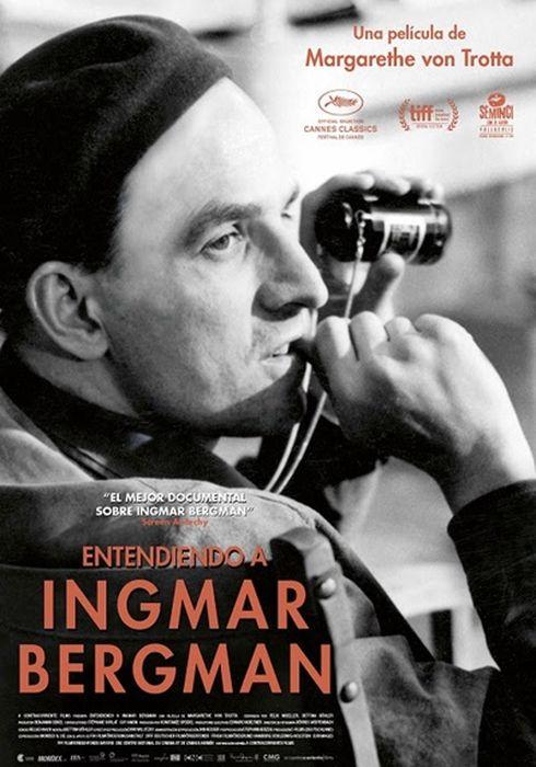 Cartel oficial en español de: Entendiendo a Ingmar Bergman
