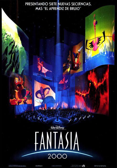 Cartel oficial en español de: Fantasía 2000