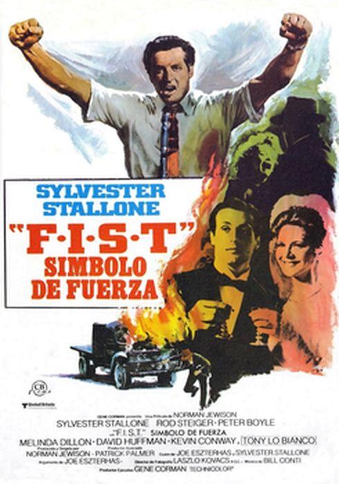 Cartel oficial en español de: F.I.S.T.: Símbolo de fuerza