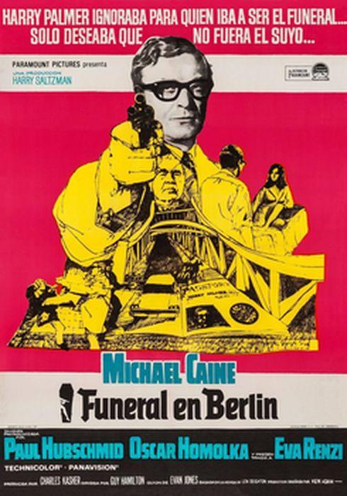 Cartel oficial en español de: Funeral en Berlín