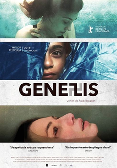 Cartel oficial en español de: Genezis