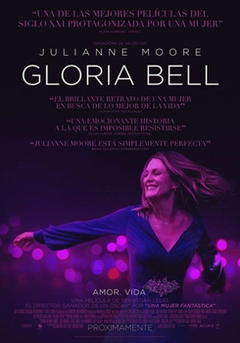 Cartel oficial en español de: Gloria Bell