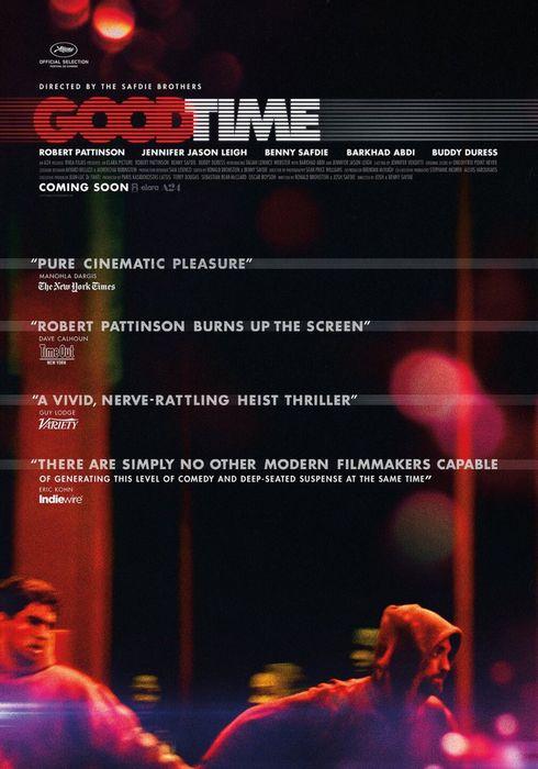 Cartel oficial en español de: Good Time