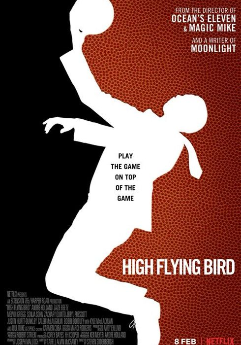Cartel oficial en español de: High Flying Bird