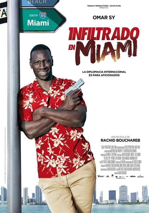 Cartel oficial en español de: Infiltrado en Miami