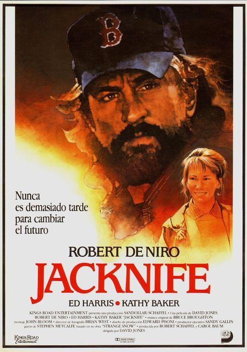 Cartel oficial en español de: Jacknife