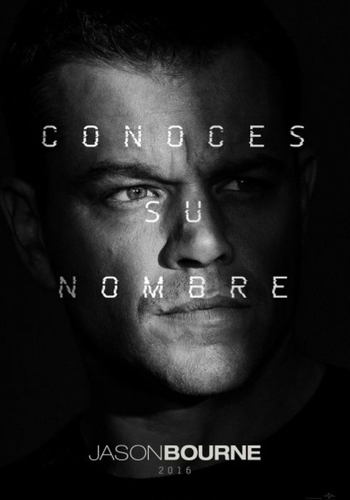 Cartel oficial en español de: Jason Bourne