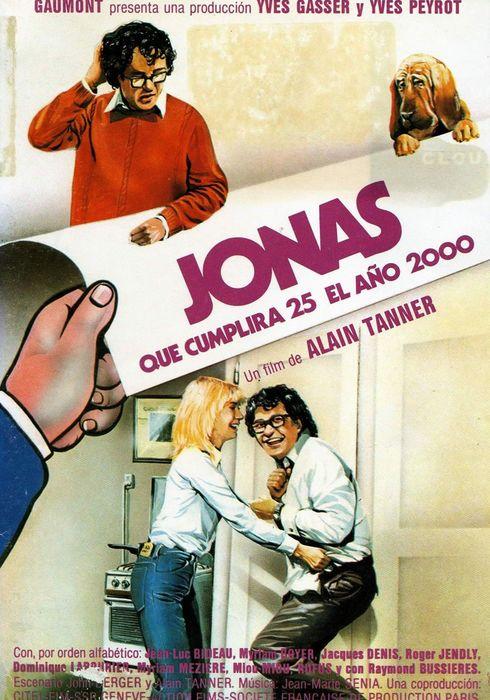 Cartel oficial en español de: Jonás, que cumplirá los 25 en el año 2000