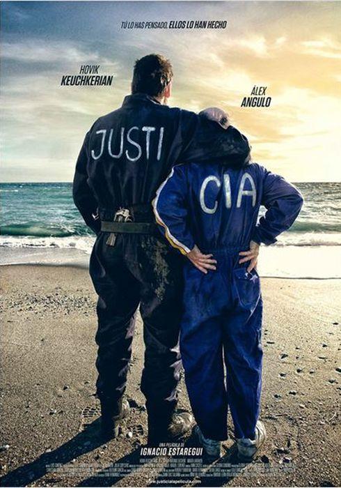 Cartel oficial en español de: Justi&Cia