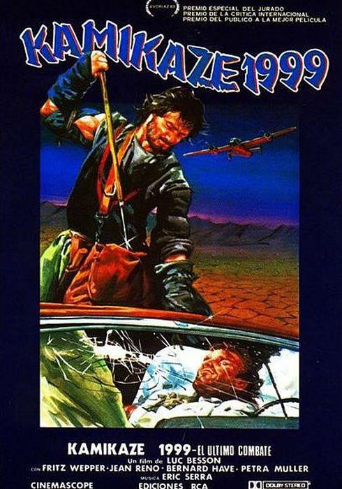Cartel oficial en español de: Kamikaze 1999 (El último combate)