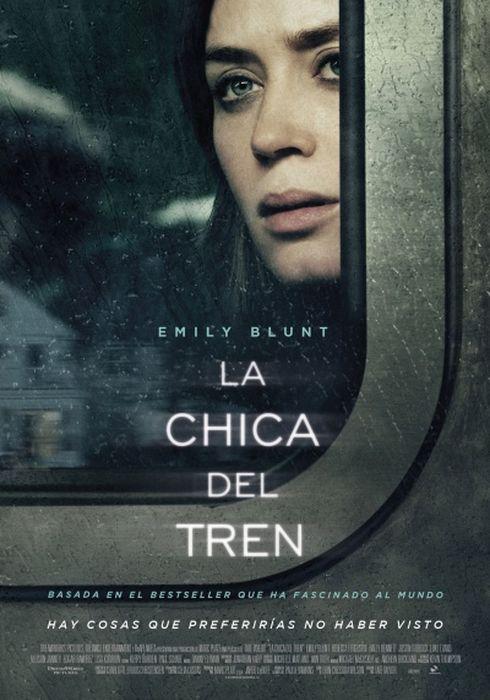 Cartel oficial en español de: La chica del tren