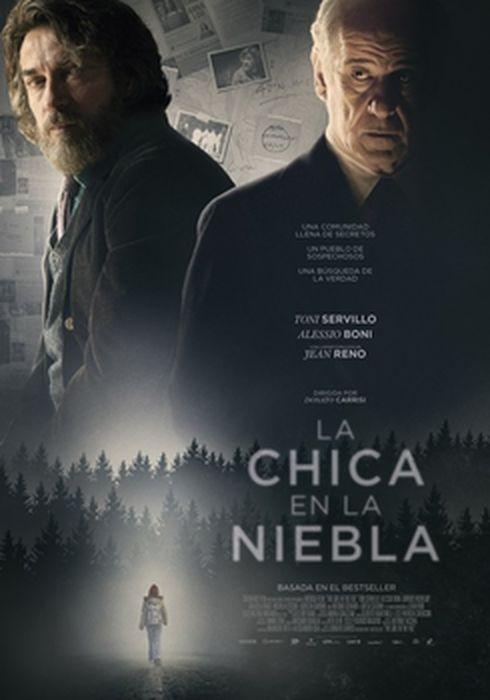 Cartel oficial en español de: La chica en la niebla