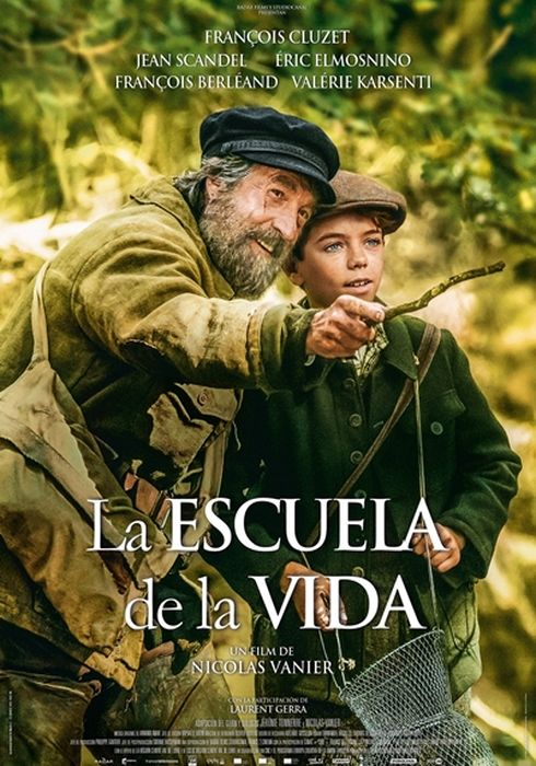 Cartel oficial en español de: La escuela de la vida