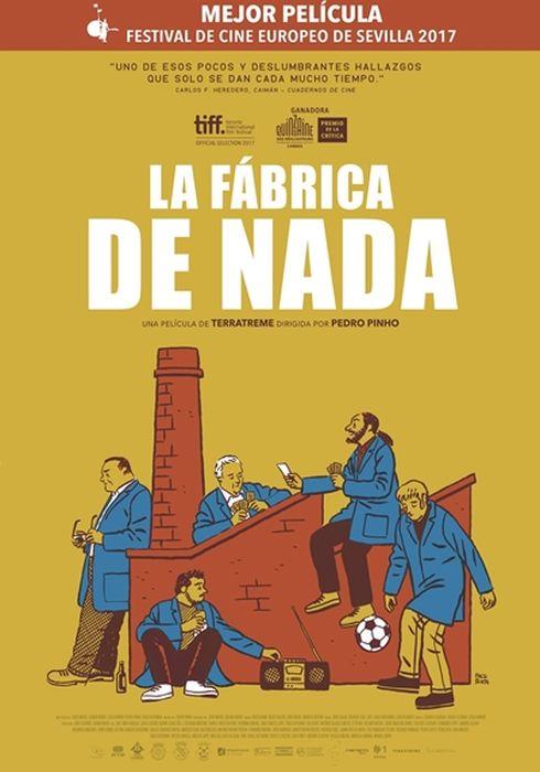 Cartel oficial en español de: La fábrica de nada