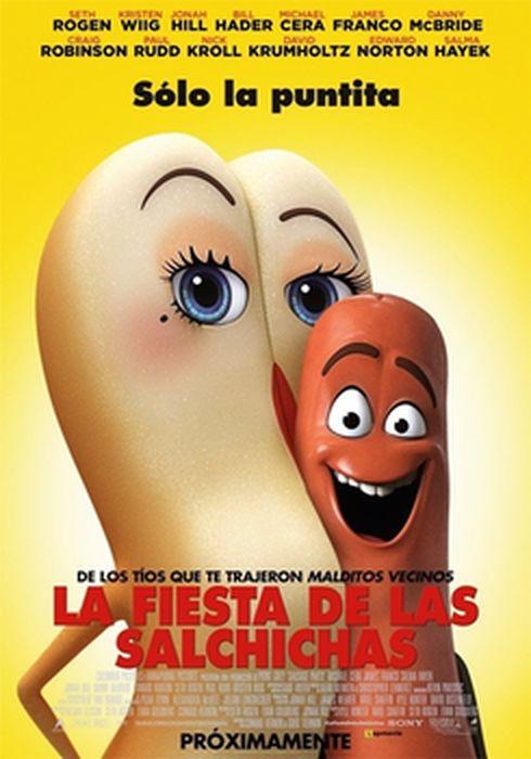 Cartel oficial en español de: La fiesta de las salchichas