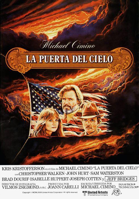 Cartel oficial en español de: La puerta del cielo