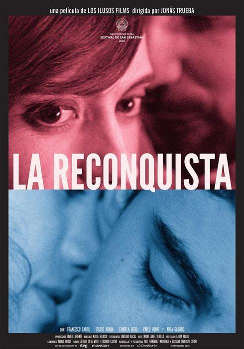 Cartel oficial en español de: La reconquista