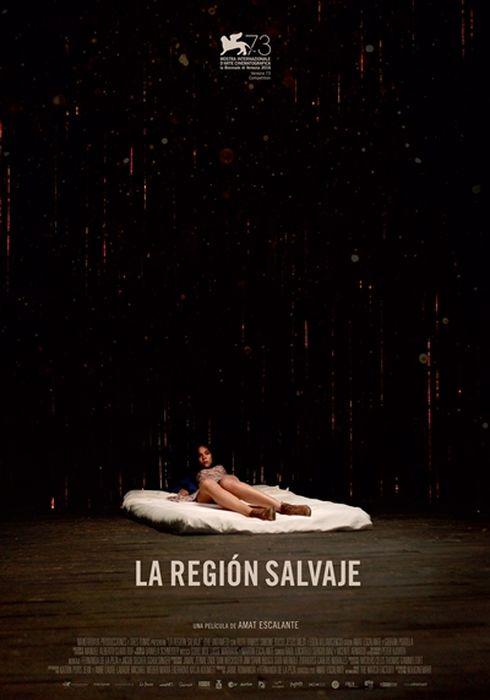 Cartel oficial en español de: La región salvaje