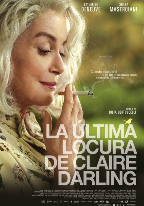Cartel oficial en español de: La última locura de Claire Darling