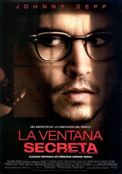 Cartel oficial en español de: La ventana secreta