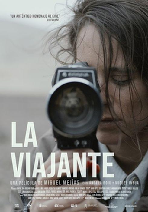 Cartel oficial en español de: La viajante