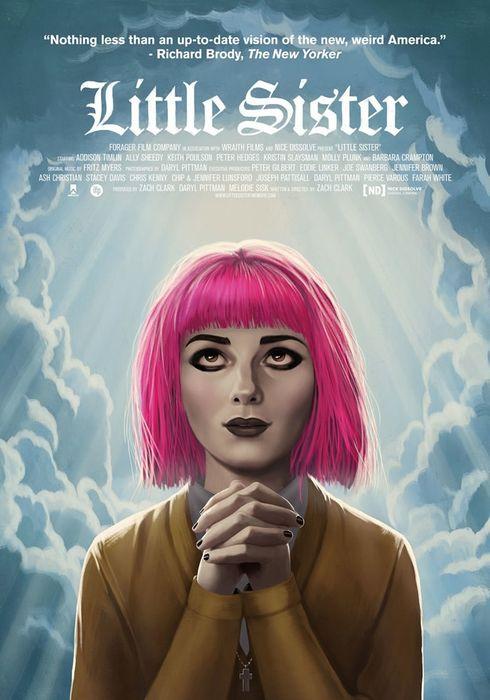 Cartel oficial en español de: Little Sister