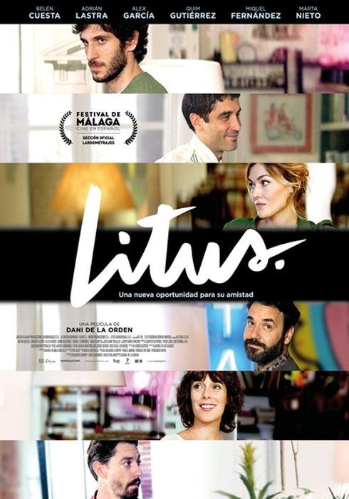 Cartel oficial en español de: Litus