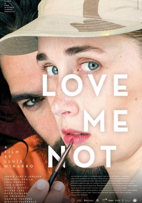 Cartel oficial en español de: Love Me Not