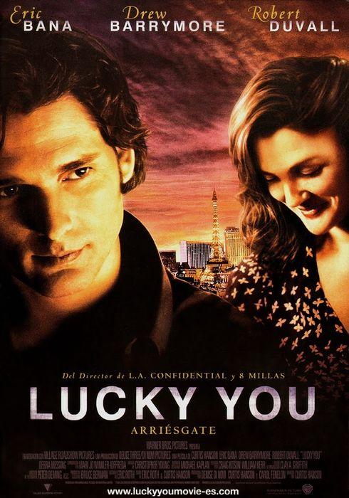 Cartel oficial en español de: Lucky You