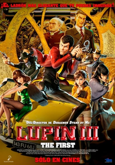 Cartel oficial en español de: Lupin III: The First