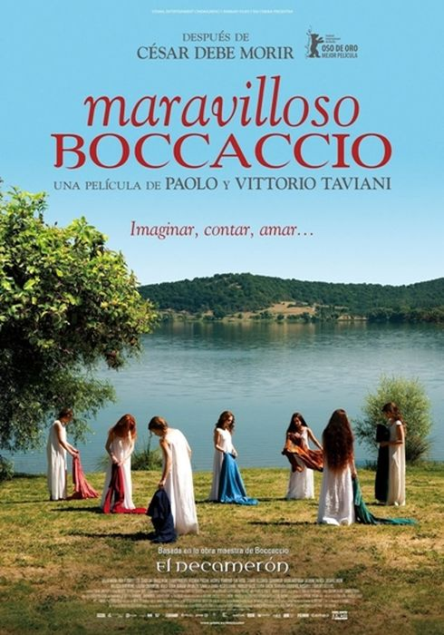 Cartel oficial en español de: Maravilloso Boccaccio