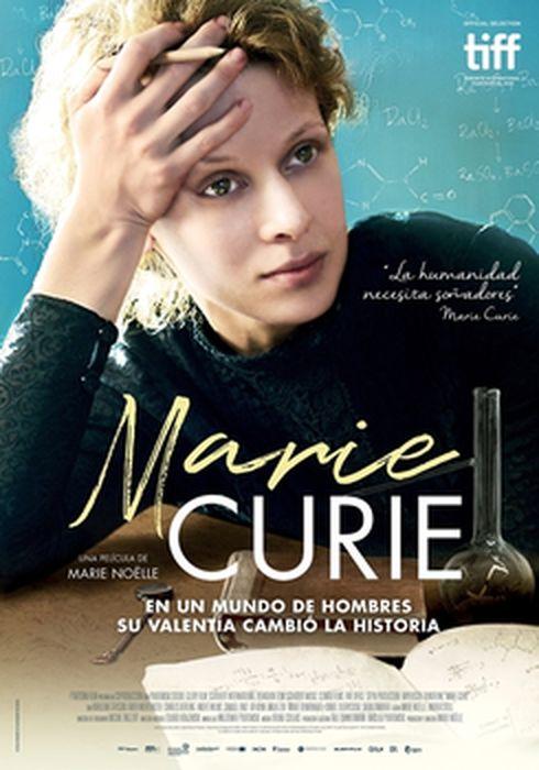 Cartel oficial en español de: Marie Curie