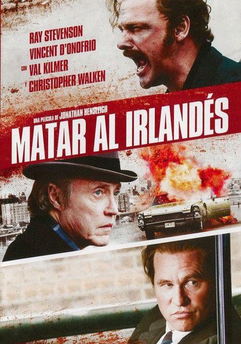 Cartel oficial en español de: Matar al irlandés