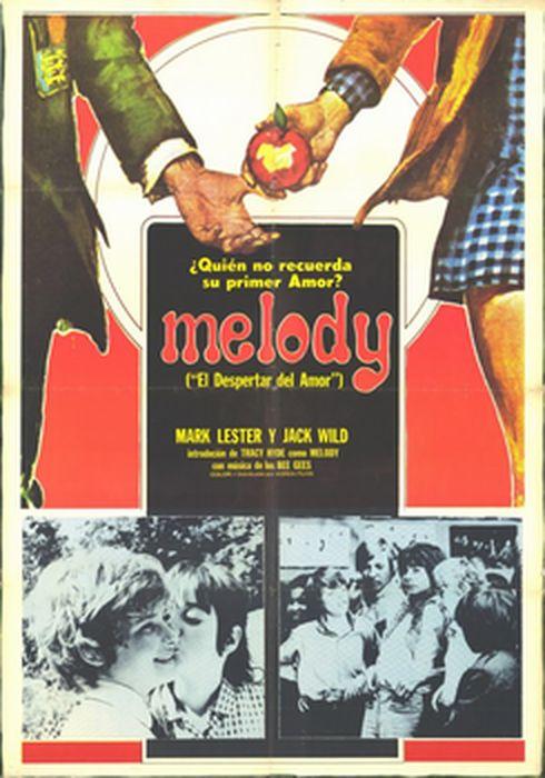 Cartel oficial en español de: Melody