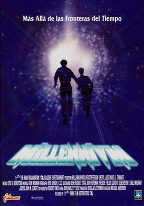 Cartel oficial en español de: Millennium